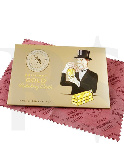 Town Talk Polish: Gold Polishing Cloth (Small)