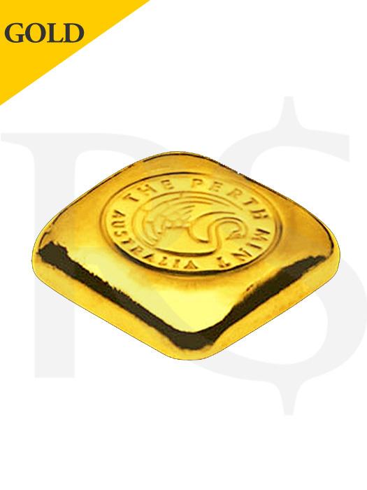 Perth Mint 1oz 999.9 Casting Gold Bar