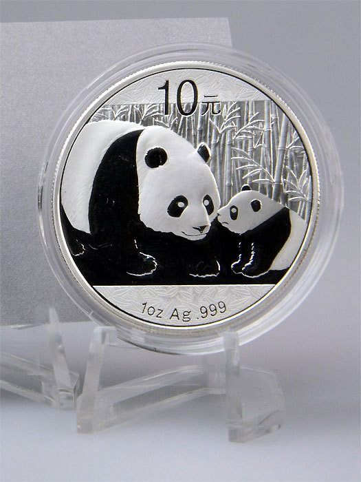 2011 Chinese Panda 1 oz Silver Coin