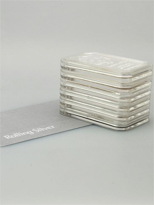 Stackable 1 oz Capsule Bar (Pack of 10)