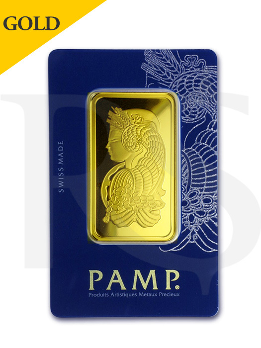 PAMP Suisse Lady Fortuna 50 gram Gold Bar (Veriscan®)
