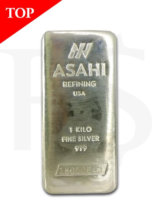 Asahi 999 Silver Kilo Bar