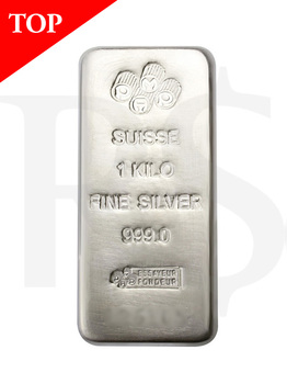 PAMP Suisse Silver Kilo Bar (With Assay Certificate)