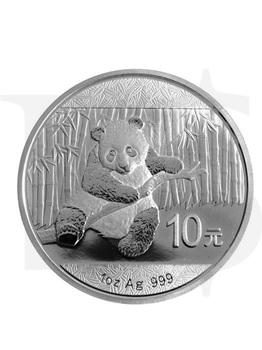 2014 Chinese Panda 1oz Silver Coin
