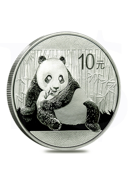 2015 Chinese Panda 1oz Silver Coin