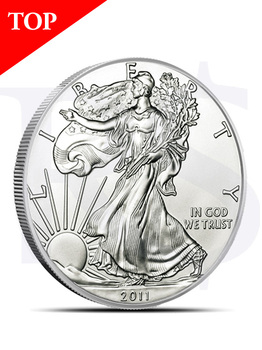 2011 American Eagle 1 oz Silver Coin (with Capsule)
