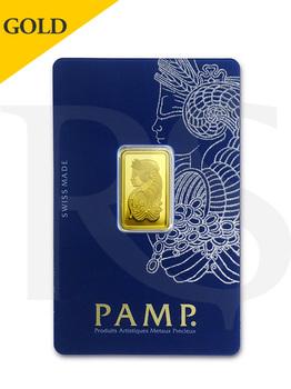PAMP Suisse Lady Fortuna 5 gram Gold Bar (Veriscan®)