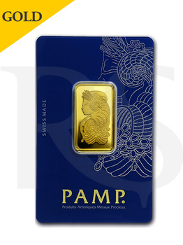 PAMP Suisse Lady Fortuna 20 gram Gold Bar (Veriscan®)
