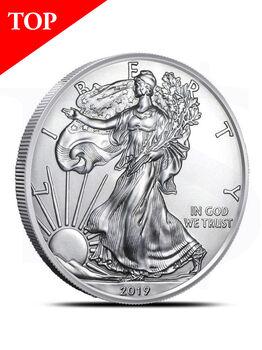 2019 American Eagle 1 oz Silver Coin