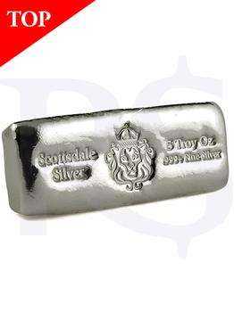 Scottsdale 5 oz Casting Silver Bar