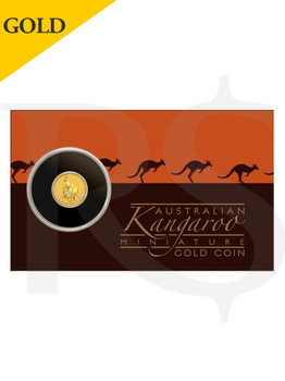 2021 Perth Mint Mini Roo 0.5 gram 9999 Gold Coin