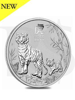2022 Perth Mint Lunar Ox 1 oz Silver Coin