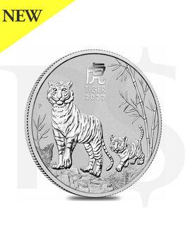 2022 Perth Mint Lunar Ox 1/2 oz Silver Coin