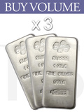 Buy Volume: 3 or more PAMP Suisse Silver Kilo Bar