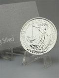 2012 1 oz Silver Britannia (With Capsule)