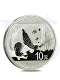 2016 Chinese Panda 30 grams Silver Coin