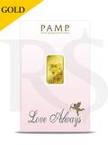 PAMP Suisse Love Always 5 gram Gold Bar