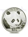 2018 Chinese Panda 30 grams Silver Coin
