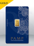 PAMP Suisse Lady Fortuna 1 gram Gold Bar (Veriscan®)