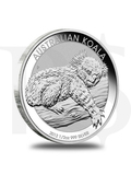 2012 Perth Mint Koala 1/2 oz Silver Coin