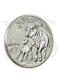 2021 Perth Mint Lunar Ox 1 oz Silver Coin