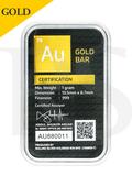 AUGoldBar 1 gram 999 Gold Bar