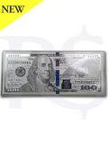 Benjamin Franklin 999 Silver Note 5 gram $100 Replica