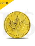 2012 Canada Maple Leaf 1/4 oz 9999 Gold Coin