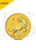 2022 Perth Mint Lunar Tiger 1/10 oz 9999 Gold Coin
