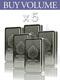 "Buy Volume: 5 or more Scottsdale ""The Stacker"" 10 oz Silver Bar"