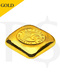 Perth Mint 1 oz (31.1g) 999 Casting Gold Bar