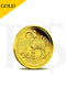 2015 Perth Mint Lunar Goat 1/10 oz 9999 Gold Coin