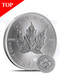 2015 Canada Maple Leaf 1 oz Silver Coin (with Capsule)