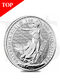 2021 Britannia 1 oz Silver Coin (With Capsule)